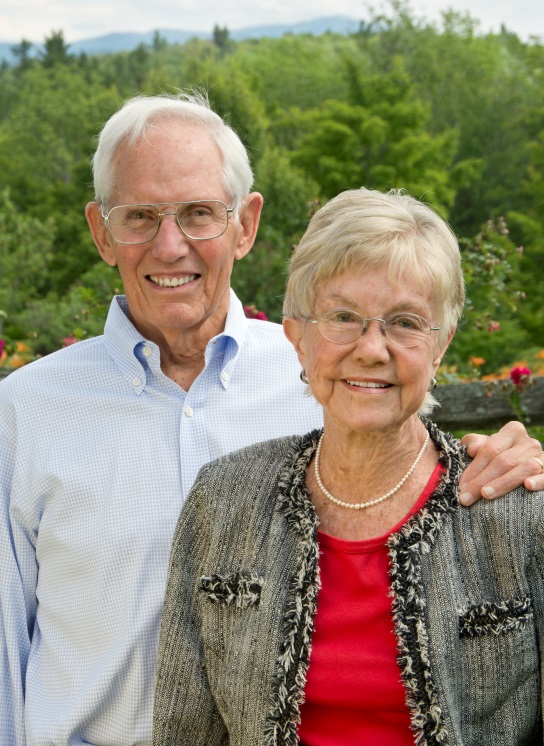 Jean and John Hoffman, Jr. (2015)